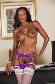 Black Babe Is Demonstrating Her Skills photos Diamond Jackson.