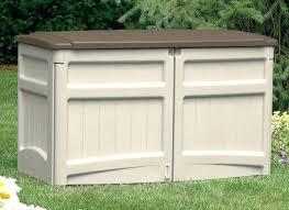 outdoor storage box plans bench deck home depot waterproof rubbermaid