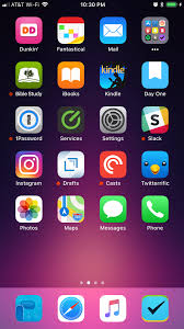 Kennon Bickhart s iPhone Home Screen Home Screens Productivity