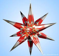 Haßlauer Weihnachtsstern Rotweißgold Für Innen 65 Cm