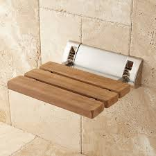 Timber Bathroom Accessories Shower Seats Benches Stools Signature Hardware