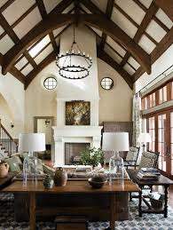 cathedral exposed beams dark color 65 unique cathedral and vaulted ceiling designs in living rooms interior design 10 63