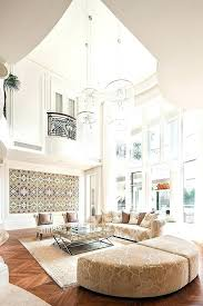 modern chandelier for high ceiling ceilings chandeliers chic beach house interior design