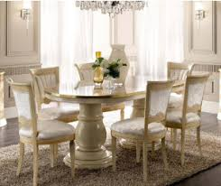 modern italian living room furniture. Camel Group Aida Ivory And Gold Oval Extension Dining Table With 6 Chairs Modern Italian Living Room Furniture C