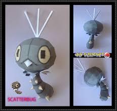 Pokemon Scatterbug Free Papercraft Download