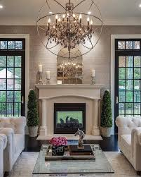 living room chandelier ideas