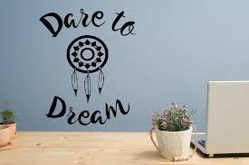 dare to dream decal dream catcher decal dare to be dare to live dreamcatcher decal dream wall decal dream wall art dream wall decor