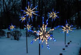 Bright Lights Omaha Ne Led Starburst Blue And White Holiday Bright Lights