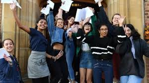 A-levels: Dip in top grades as thousands get results - BBC News