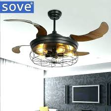 fanaway ceiling fans fan with clear retractable blades and light inch bulb reviews