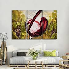 tuscan vineyard multi panel canvas wall art on tuscan vineyard wall art with tuscan vineyard multi panel canvas wall art elephantstock