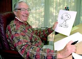 Charles Schulz photograph