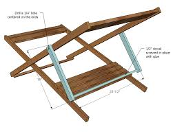 folding deck chair plans. ana white   wood folding sling chair, deck chair or beach - adult size diy projects plans m