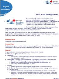 Red Cross Swim Program Guide Pdf Free Download