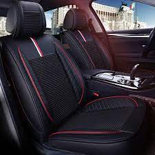 Leather Car Seat Cover Auto Seats Covers For Kia K3 Magentis Borrego Carens Carnival Forte Sportage 3 R Sou Leather Car Seat Covers Car Seats Leather Car Seats