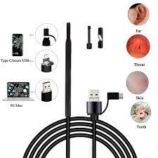 Ear Otoscope Intraoral Camera USB Digital HD Mini <b>HandHeld</b> ...