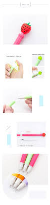 Light Up Pen Refills Fruit And Veggie Light Gel Pens