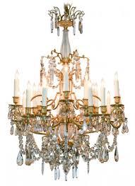 sensational 19th c french 20 light chandelier