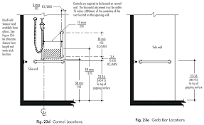 tub shower valve height standard tub shower valve height controls and accessories for bathtub guidelines accessible