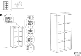Ikea Instruction Manuals Ikea Storage Furniture Expedit Bookcase 58 5 8x31 1 8 Pdf
