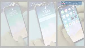 And Etrade Aftermarket Between Iphone X Difference Screen Oem wq6BA7BE