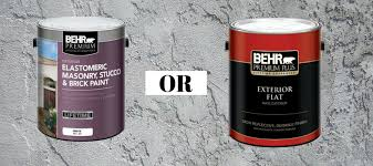 of paint do i use on exterior stucco