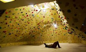 this home wall uses mattresses and crashpads covered with carpet photo travis ricksecker on artificial rock climbing wall cost with how to build a home climbing wall rei co op journal