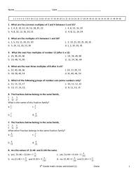 6 th grade common core math worksheets good 3 d for ratio word ...
