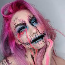 creative makeup ideas colorful sugarskull makeup