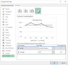 How To Select Series In Excel Chart How To Add A Line In Excel Graph Average Line Benchmark Etc