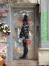 mrrobot street art located at canal and cortlandt alley ny on mr robot wall art with photos finding mrrobot take a look at the street art promotion
