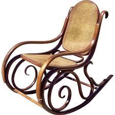 antique thonet rocking chair