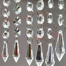 crystal strands for chandeliers 6 strands acrylic crystal garland chandelier hanging bead chains free crystal chandelier strands whole