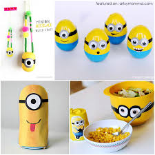 Crafts and Activities Inspired by Minions and Despicable Me Movies