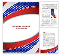 word theme download elections theme word template 08290 poweredtemplate com
