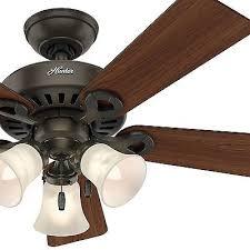 44 hunter fan new bronze ceiling fan with swirled marble light kit
