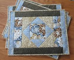 Quilted Placemat Patterns Interesting Inspiration Design