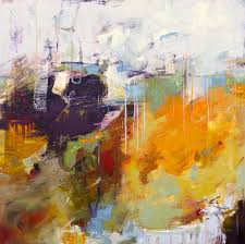 modern abstract painting mistral by elizabeth chapman