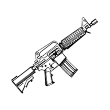 Small Picture Gun Coloring Pages For The Little Adventurer In Your House