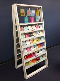 Wooden Greeting Card Display Stand Interesting Used Greeting Card Racks 32 Best Greeting Card Displays Images On