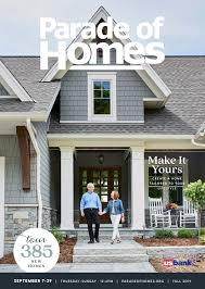 Grand Designs Lake Bennett House Finished 2019 Fall Parade Of Homes Sm Guidebook By Housing First