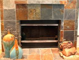 slate tile fireplace pictures tiles hearth surround