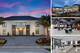 florida villa services game rooms. The White House At Reunion | 12,982 Sq. Ft. Villa With The Largest South  Facing Infinity Pool In Reunion, Private Theater, Fitness Room, Games \u0026 Sports Bar Florida Villa Services Game Rooms