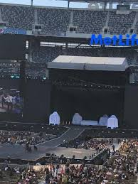 Metlife Stadium Section 124 Home Of New York Jets New