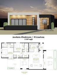 modern 2 bedroom house plan 61custom of modern house plans with photos