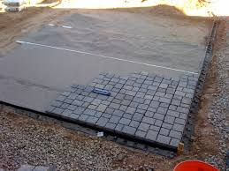 Small Picture budget diy small patio My DIY Paver Patio On The Cheap