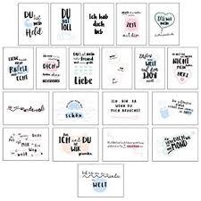 Cupcakes Kisses 20er Postkarten Set Liebe I Schöne Sprüche