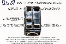 Utv inc carling back lit led switches diagrams new switch wiring diagram