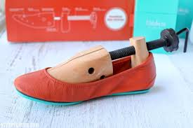 my favorite tool and what i use to stretch leather shoes is a two way shoe stretcher i have a pair of kevenanna 2 way wooden shoe trees and they work