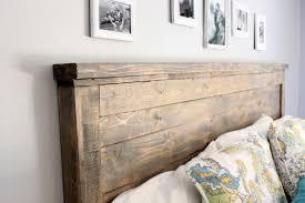 wood headboard diy